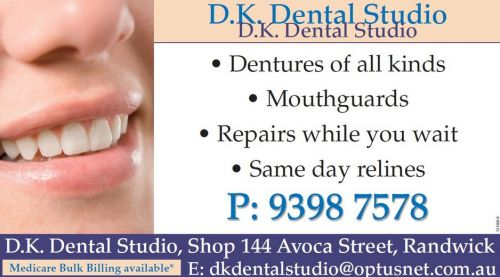 DK Dental Studio - Dentists Australia